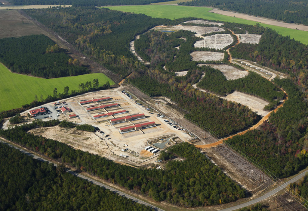Canine Training Facility Aerial