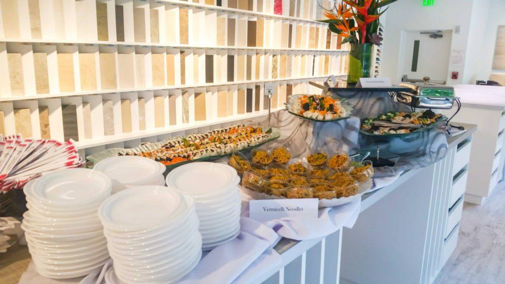 Miami buffet catering
