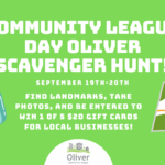 2020 Community League Day Scavenger Hunt
