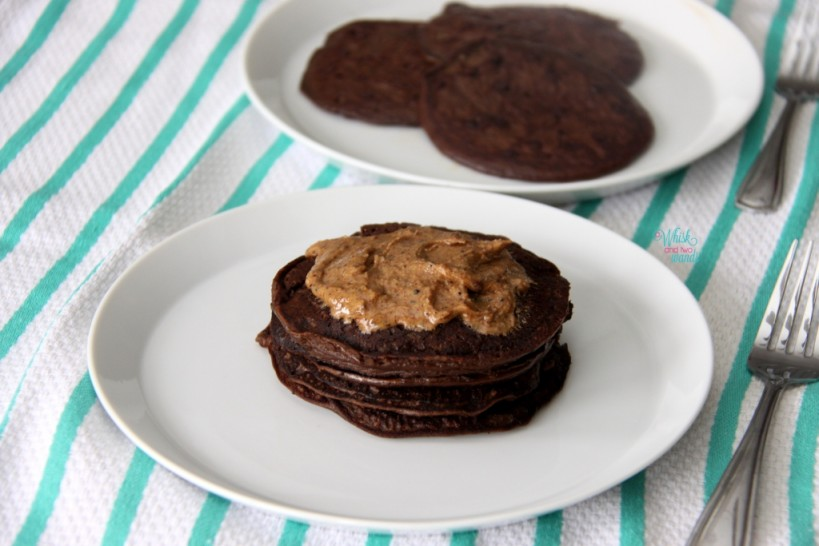FitFul Focus Banana Chocolate Chip Protein Pancakes