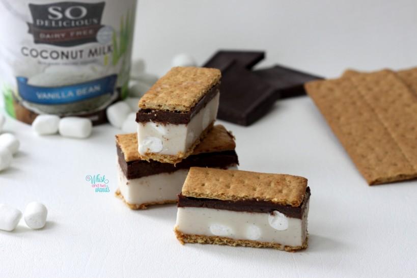 S'more Ice Cream Bars
