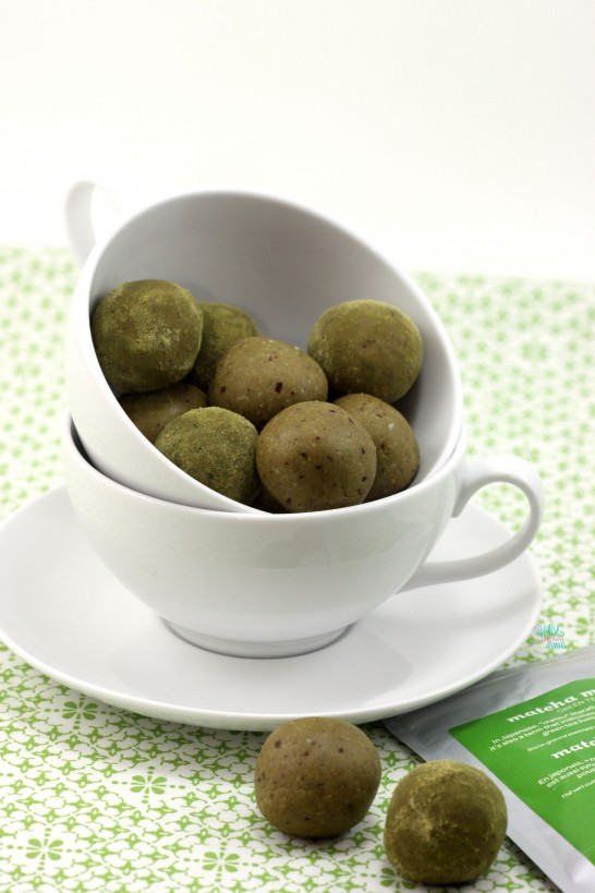 Matcha Power Balls