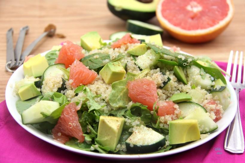 Sun-sational Grapefruit and Avocado Summer Salad