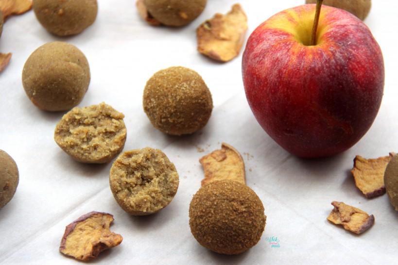 Caramel Apple Snack Bites