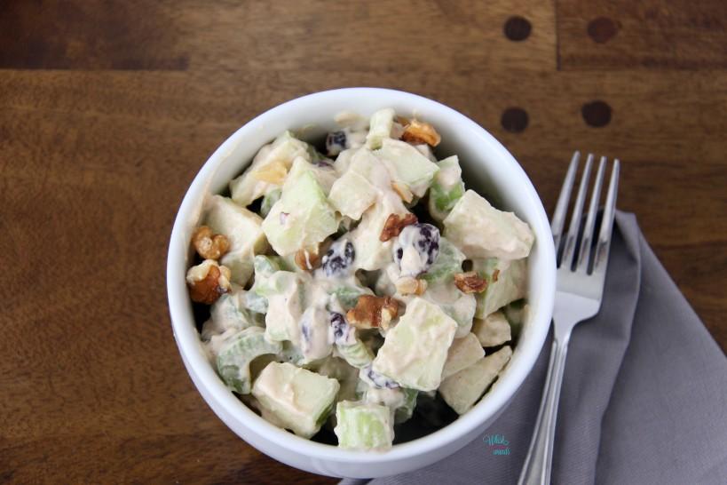 Where is Waldorf Salad (dairy free vegan version)