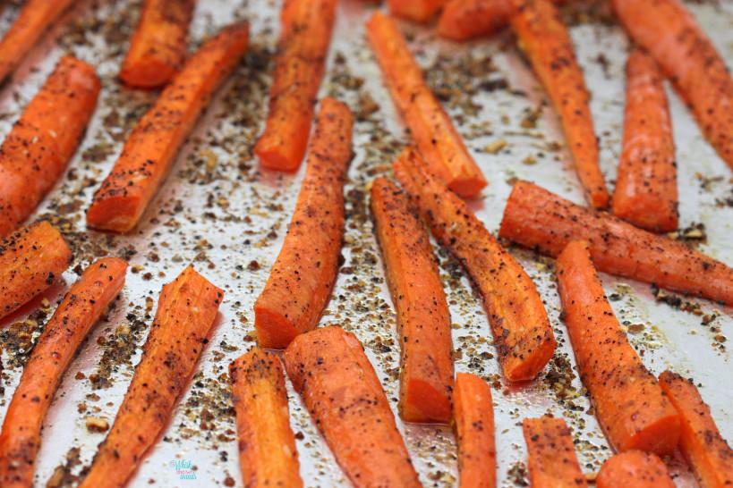 Coffee Roasted Carrots