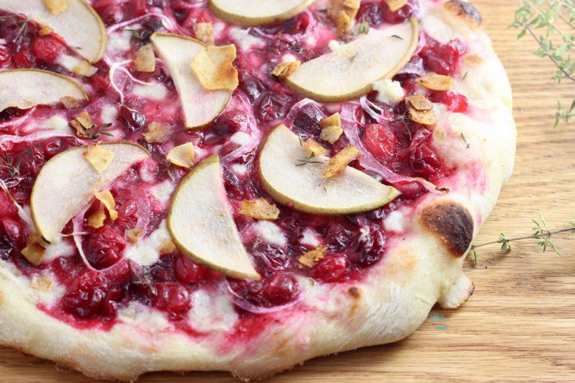 Cranberry Pear Pizza