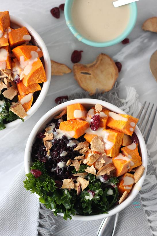 Sweet Potato Forbidden Rice Bowls