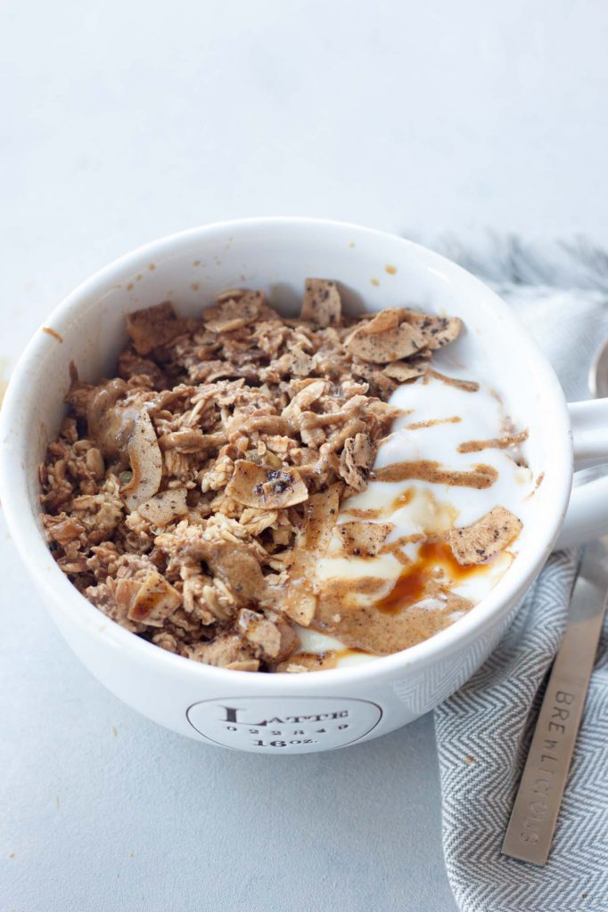 Dirty Chai Muesli Bowl