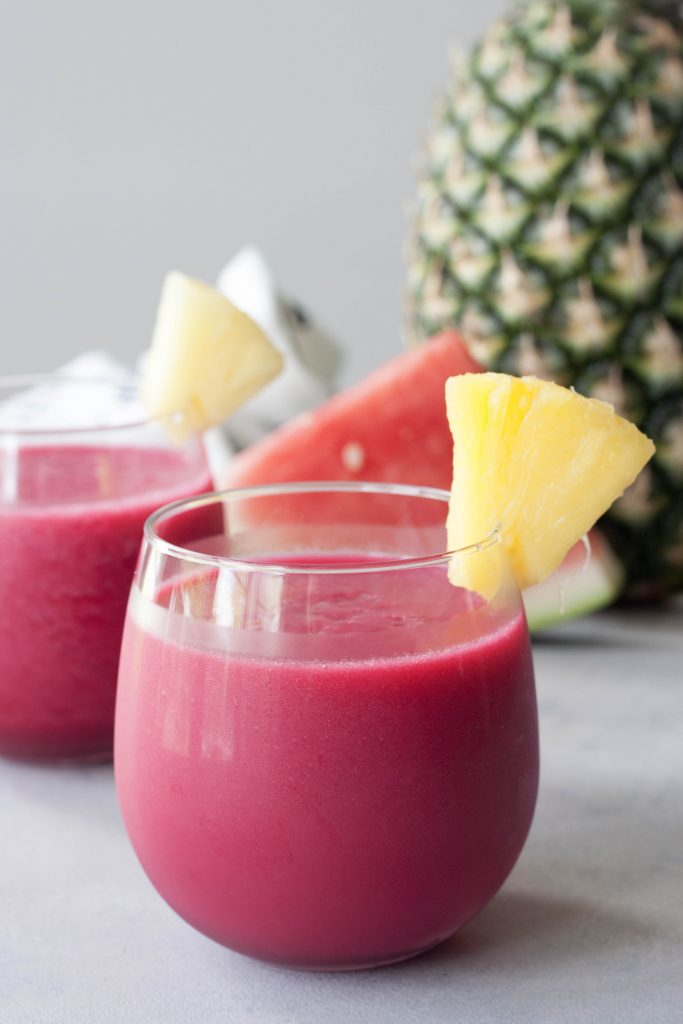A Whisk and Two Wands, Fruits and Roots Smoothie
