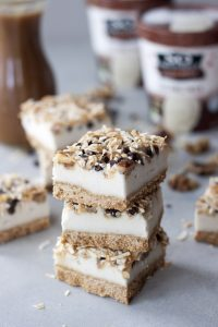 Seven Layer Coconut Ice Cream Bars, A Whisk and Two Wands
