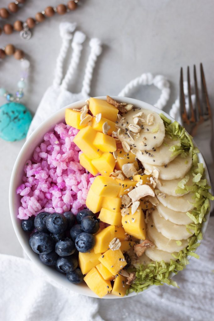 Rainbow Rice Bowl, A Whisk and Two Wands
