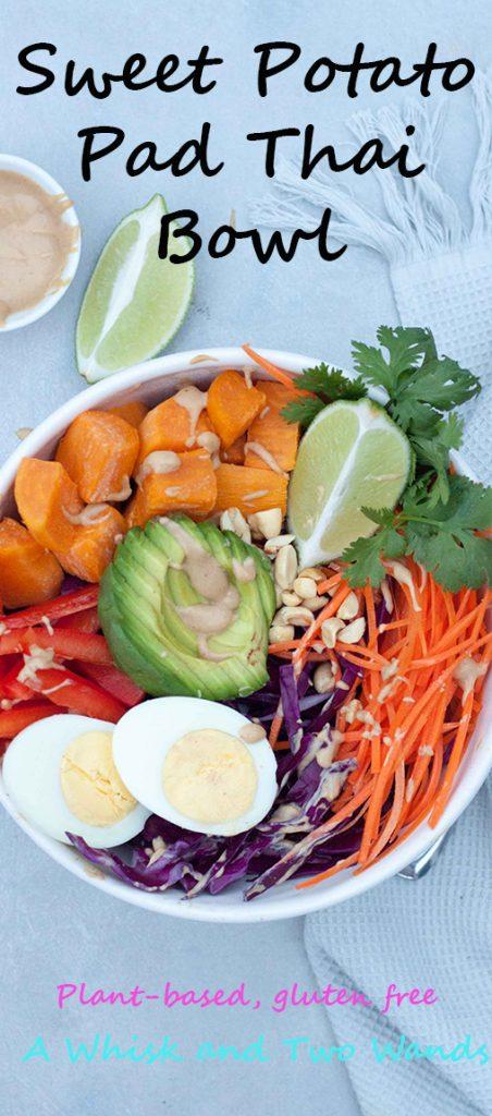 Sweet Potato Pad Thai Bowl
