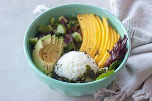 Tropical Veggie Sushi Bowl