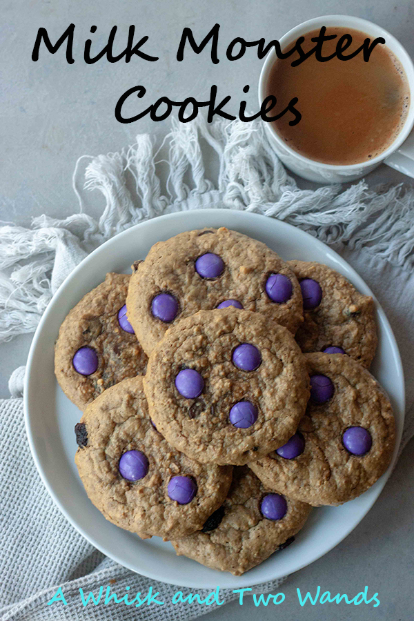 A healthy twist on classic Monster Cookies with added nutritional benefits for breast feeding mamas with little milk monsters. Made with simple whole food ingredients these healthy cookies are ones the whole family can love, with or without brewers yeast. However I omit it for the families cookies and they still have milk producing benefits for me. Cookies are gluten and dairy free friendly with a nut free option.