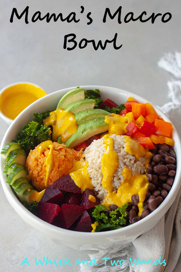A delicious and nutritious bowl to fuel your day that's perfect for meal prepping, using leftovers, or even making for the family just because it's that good! Packed with as much color as there is flavor this whole food packed bowl is gluten free and vegan friendly.