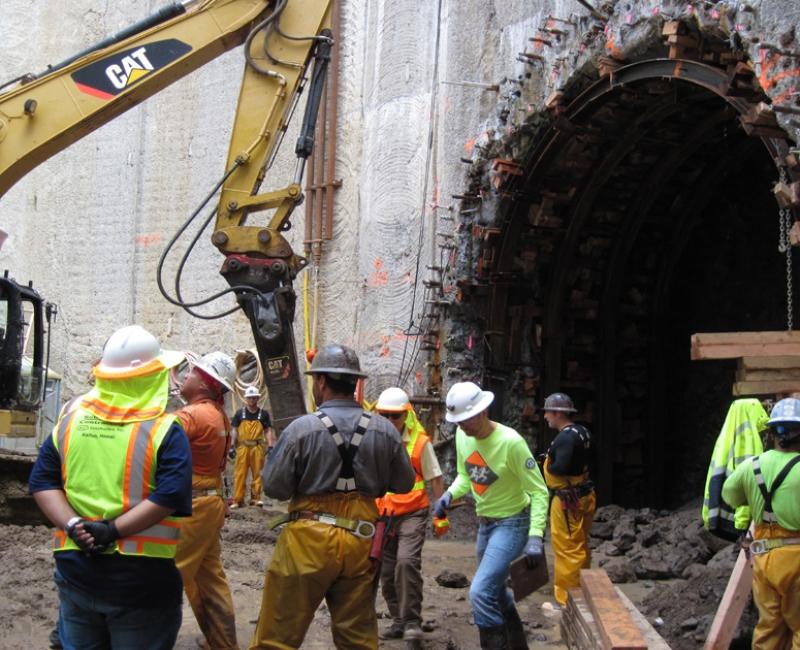 KK Tunnel Excavation