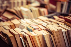 Rows of Books