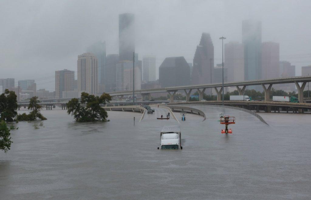 Houston flooded by Hurricane Harvey means major insurance claims