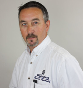Brian Johnson - President of Williamsburg Heating and Air Conditioning
