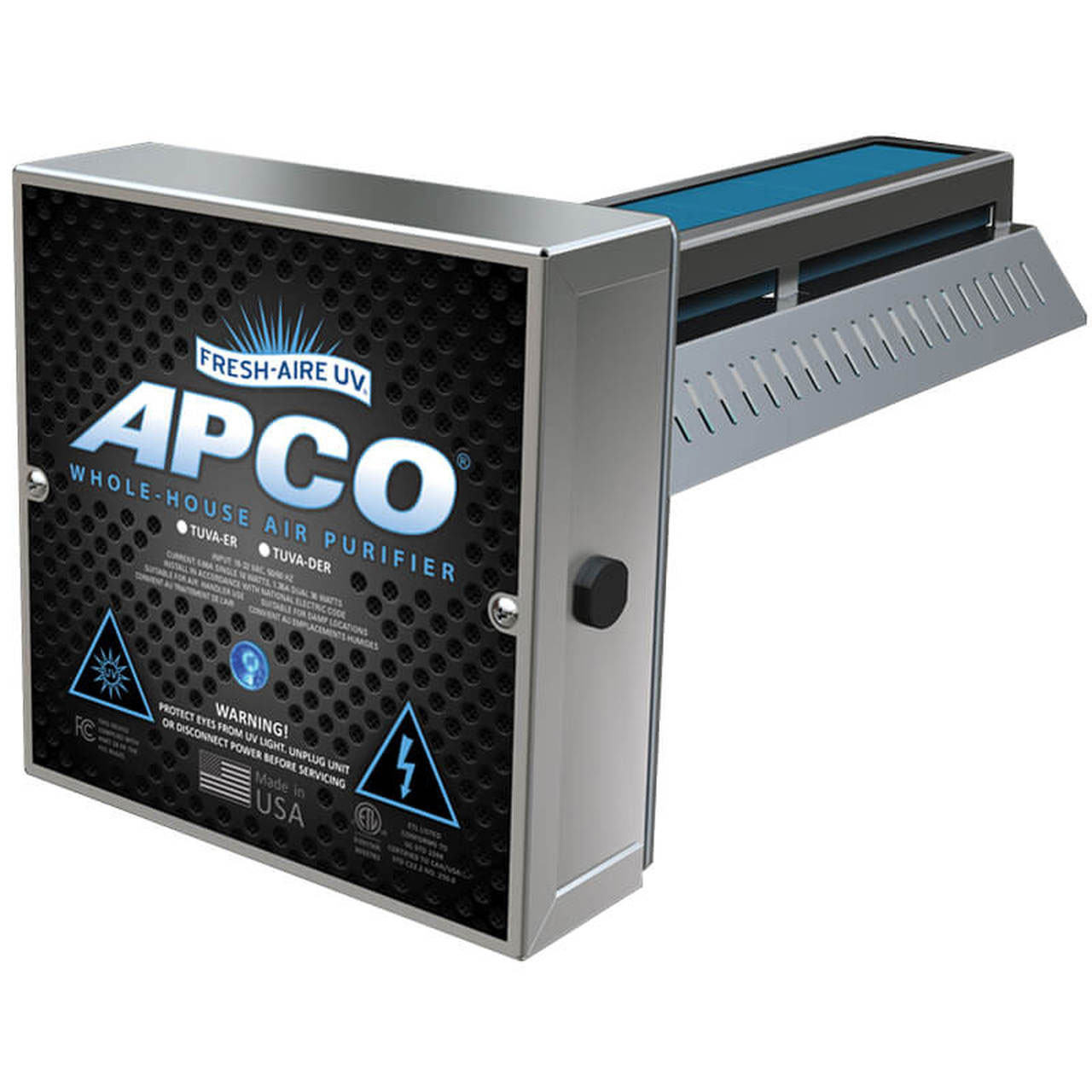 Williamsburg Heating & Air Conditioning carries APCO UV Lighting Systems
