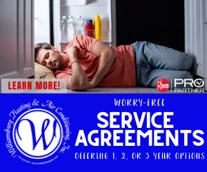 July 2020 - Williamsburg Heating & Air Conditioning - Service Agreements
