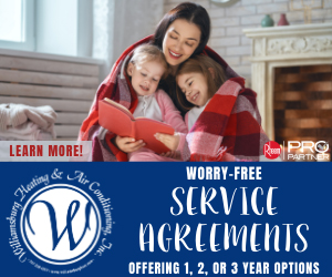 Promotions - Service Agreements by Williamsburg Heating and Air Conditioning