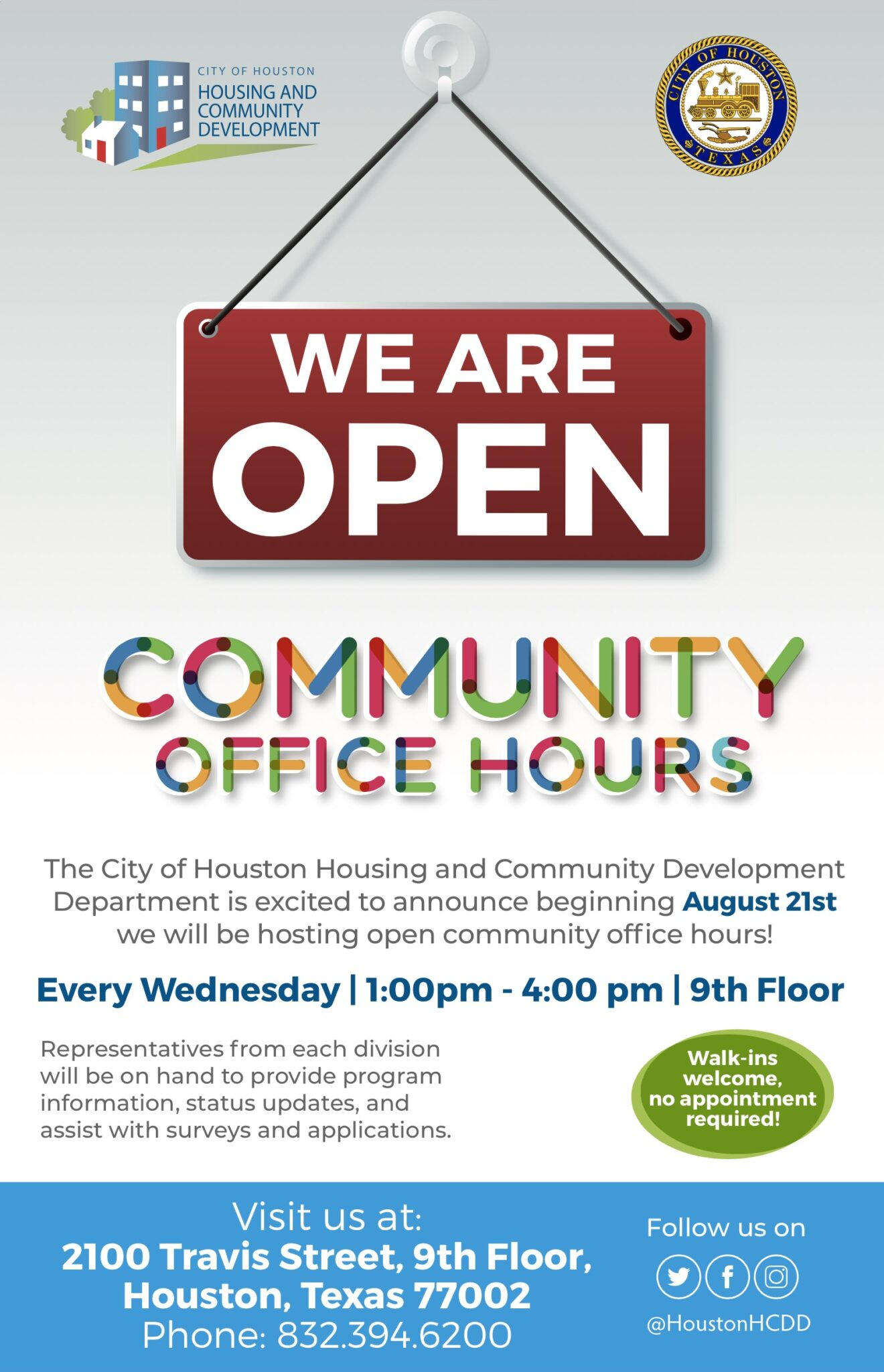 Community Office Hours Flyer