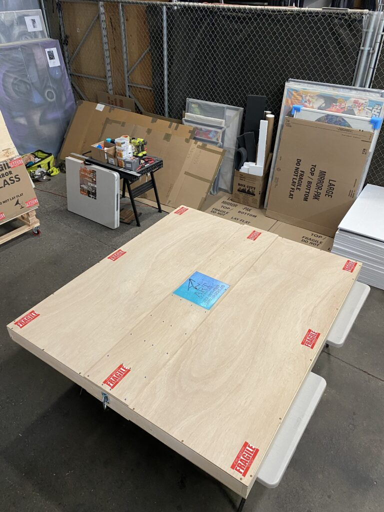 Art Couriers LA Crating - Materials and Standards