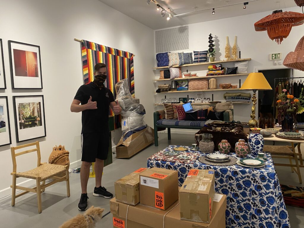 Interstate Deliveries from Los Angeles   Art Couriers