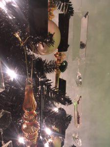 Black tree champagne crystal