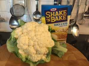shake and bake cauliflower
