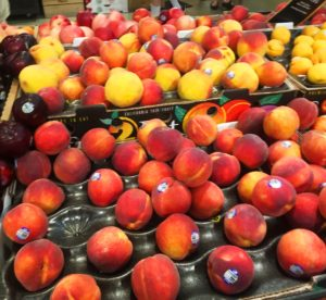peaches grocery store produce