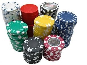 Ship poker chips