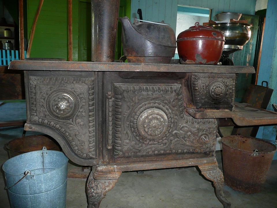 ship an antique stove