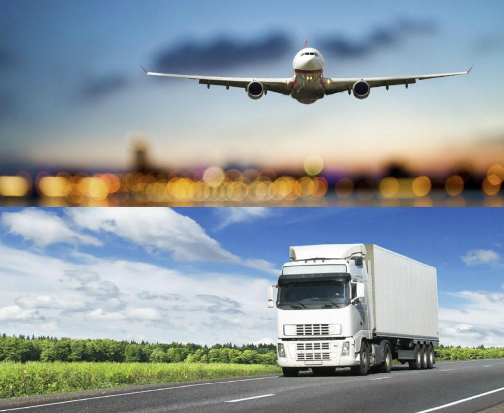 ground shiping air shipping