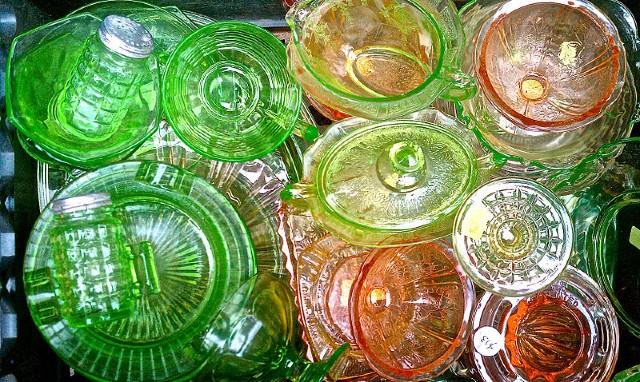 shipping depression glassware