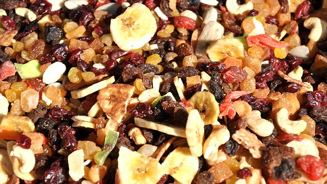 shipping dried fruits
