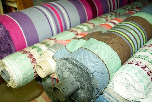 shipping fabrics