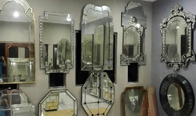 shipping venetian mirrors