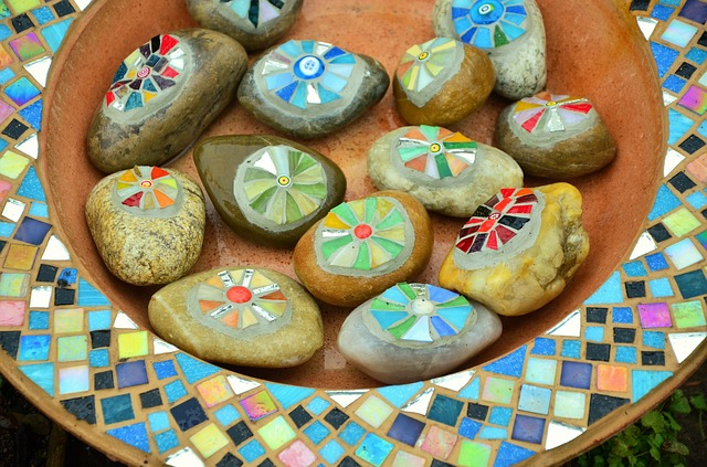 shipping glass mosaic crafts