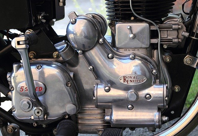 shipping motorcycle engine