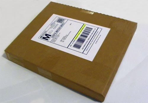 shipping book media mail