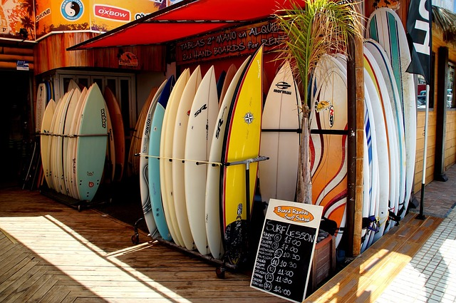 shipping a surfboard
