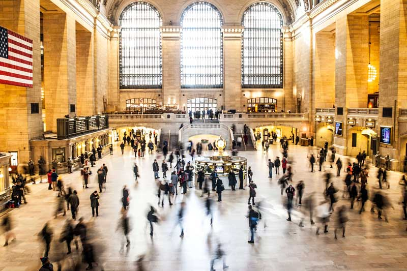 Traveling - Grand Central Station
