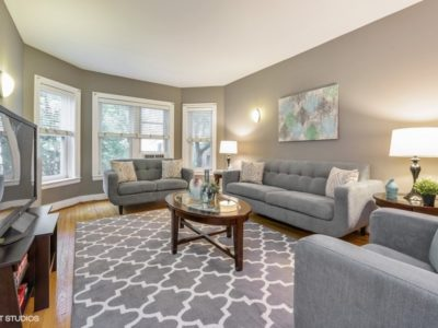 Andersonville - 1730 West Foster Avenue Unit 1W, Chicago, IL 60640 - Living Room