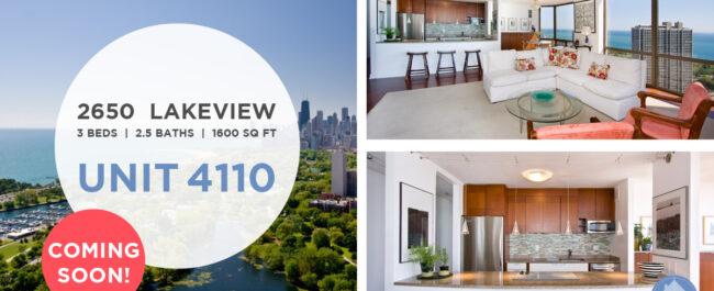 Lakeview - 2650 North Lakeview Avenue Unit 4110, Chicago, IL 60614