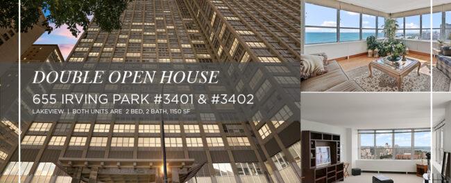 Lakeview - 655 West Irving Park Road Unit 3401 and Unit 3402, Chicago IL, 60613