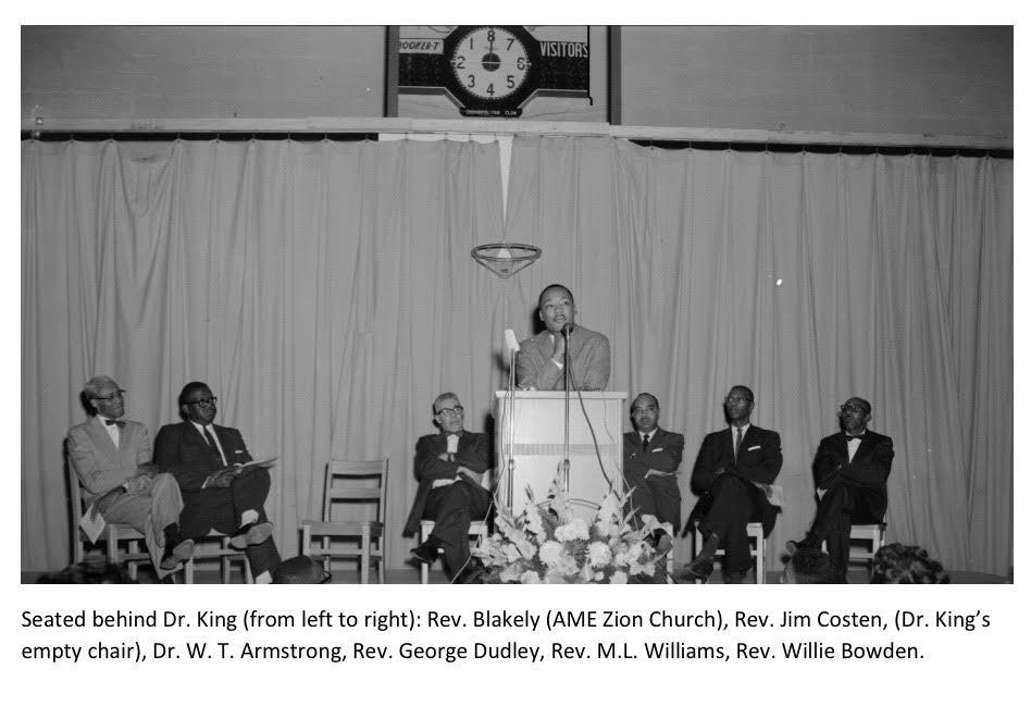 MLK Men on stage