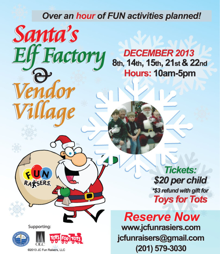 santas elf factory jersey city